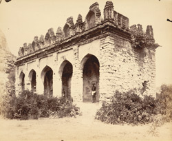 Mandapa near Gymnasium Hall [Granary], Gingi [Gingee], South Arcot District